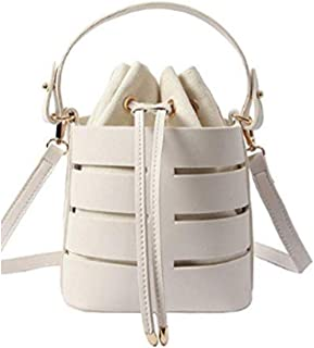 Hollow Bucket Shoulder Cross Body Bag For Traveling Weeding