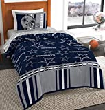 NFL Dallas Cowboys Twin Bed in a Bag Set, Twin