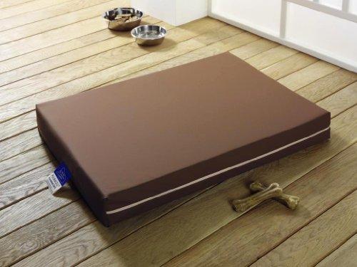 Medizinisches Hundebett PULMACELL® safe, 70x100x8 cm, braun