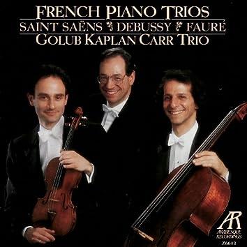 French Piano Trios - Golub Kaplan Carr Trio Performs Saint-Saëns, Debussy & Fauré