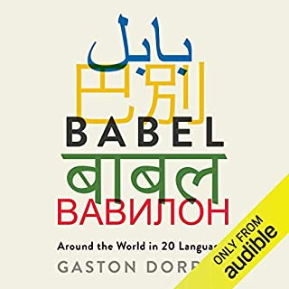 Babel audiobook cover art