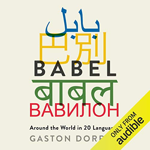 Babel audiobook cover art