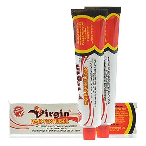 VIRGIN HAIR FERTILIZER CONDITIONING CREAM 125g (2 Pack)