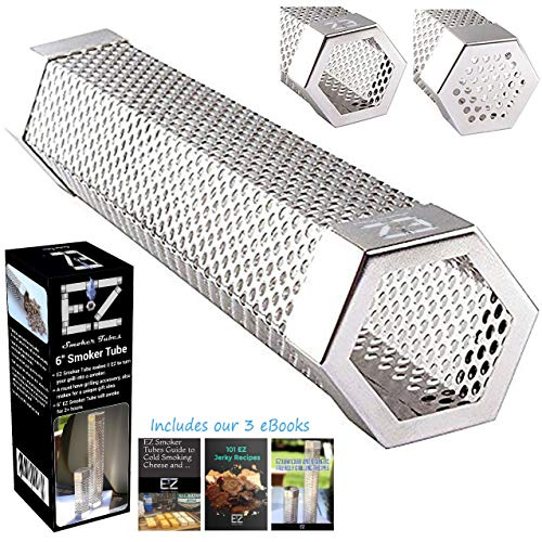 Find Cheap 6 EZ Smoker Tube, The Hexagonal Pellet Smoke Tube on Instagram and FB- Included with pur...