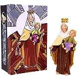 Momparler1870 Figura Virgen del Carmen *Infantil* - 20cm - Resina Pintada a Mano...