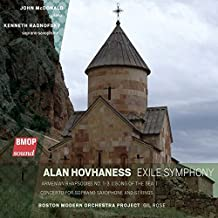Hovhaness: Exile Symphony: Symphony No. 1 Exile Armenian Rhapsodies Nos. 1-3 / Song of the Sea / Concerto for Soprano Saxophone and Strings