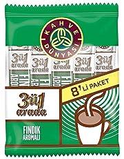 Kahve Dünyası 3ü1 Arada Fındıklı Kahve 18 G 8 Li