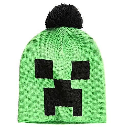 Minecraft Creeper Gezicht/Beanie Creeper Face