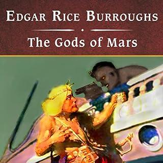 The Gods of Mars audiobook cover art