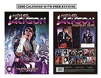 マイケルジャクソンカレンダー2020、マイケルジャクソンキーリング付き