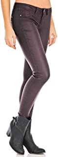 Coated Skinny Stretchy Jeans for Women