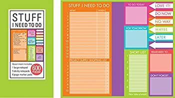 Book of Sticky Notes  Stuff I Need to Do - Brights