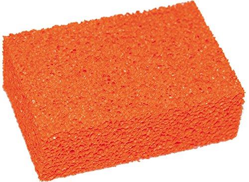 Haromac 02505150 tegelspons 150 x 100 x 50 mm, sponsrubber, rood