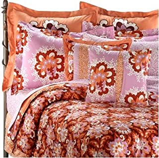 AMY BUTLER Caracas VALENCIA Orange FULL/QUEEN COMFORTER