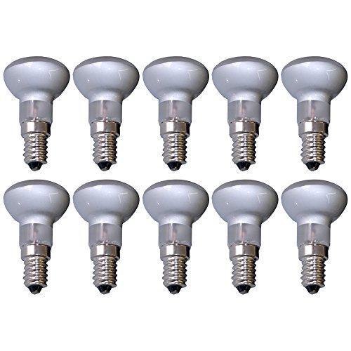10 x Reflektor Glühbirne R39 30W matt Glühlampe 30 Watt Glühbirnen Glühlampen