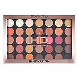 Makeup Revolution Pro HD Amplified Eyeshadow Palette Innovation Paleta 35 cieni do powiek