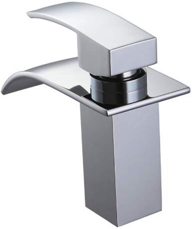 Bathroom Taps Basin Mixer Taps Bathroom Faucet Sink Taps Waterfall Tapwaterfall Bathroom Faucet Vanity Vessel Sinks Mixer Tap Cold and Hot Water Tap
