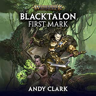 Blacktalon: First Mark audiobook cover art