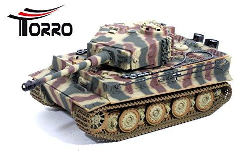 TORRO 5224-3818-B1 - Tiger 1 Panzer mit Metallunterwanne Späte Version IR