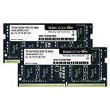 Team ノートPC用 SO-DIMM DDR4 2133MHz PC4-17000 16GBx2枚組 32GBkit 無期限保証