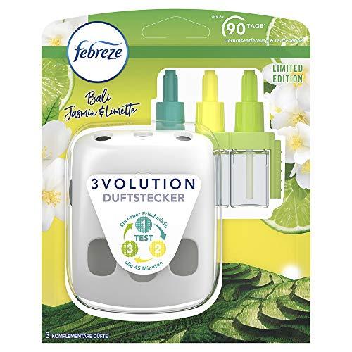 Febreze 3Volution Duftstecker & Nachfüllflakon 20ml Starter Bali Jasmin & Limette