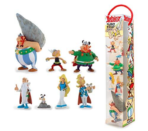 Plastoy -Asterix-Village Tube 7 Figurines