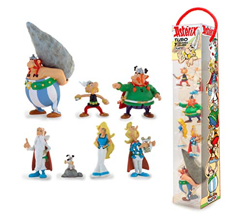 Plastoy -Asterix-Village Tube 7 Figurines 1