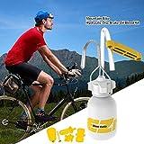 Rikey Aceite de Freno de Disco hidráulico para Bicicleta de montaña, Kit de Purga para Bicicleta Sistema de Freno de Aceite Mineral, Fluido de Ciclismo para Bicicletas de montaña para Shimano