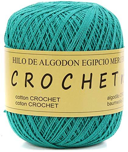 Hilo de Algodon para Tejer Crochet Ganchillo o Punto Torrijo PERLE XXL No 5 70g, Ovillo de algodón perle Suave para Tejer | 1 Unidad, Color 43304