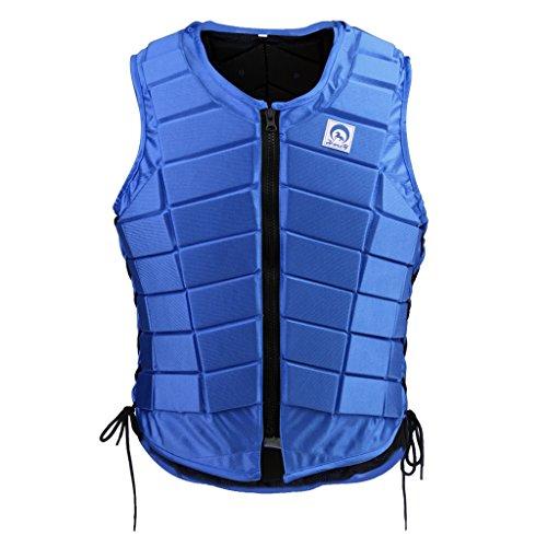 Sharplace Reitschutzweste Körperschutz Sicherheitsweste Brustpanzer Schutzausrüstung Rückenprotektor für Herren Damen Kinder - Kinder CL