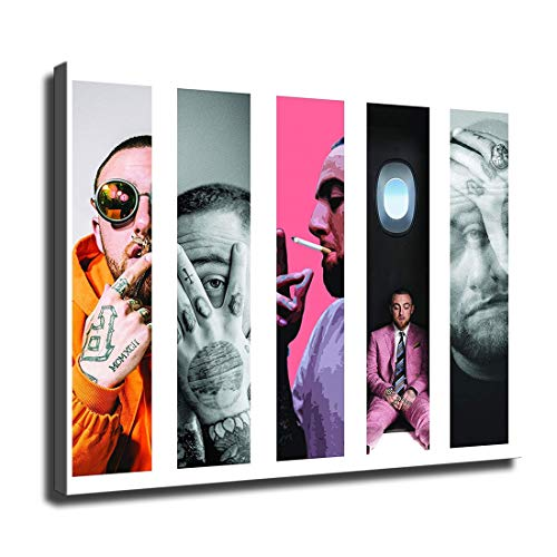 Canvas Wall Art for Home Decor Painting The Picture Print on Canvas Mac Miller Poster Poster (FINDEMO)-381 (12x16inch,Unframed)
