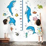 Wandaufkleber für Kindergröße, zum Selbermachen, Messlatte, abnehmbarer Wandaufkleber für Kinderzimmer, Schlafzimmer, Wohnzimmer