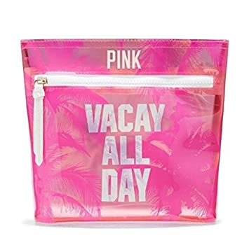 Victoria s Secret Pink Makeup Bag Vacay All Day Pouch