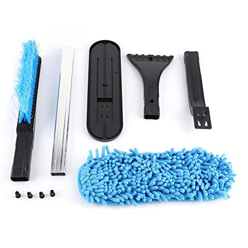 Best Price Samfox Car Ice Scraper Shovel Snow Brush Removal Clean Tool Foam Grip