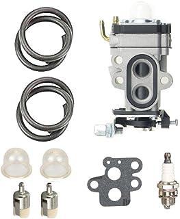 ANTO WYA-1-1 Carburetor for Redmax BCZ3060TS EZ25005 BCZ2400S BCZ2500 GZ25N23 GZ25N14 BCZ2600S BCZ2600SU BCZ2600SW BCZ2500S BCZ2460S BCZ2600 with Fuel Line Filter Repower Kit Spark Plug