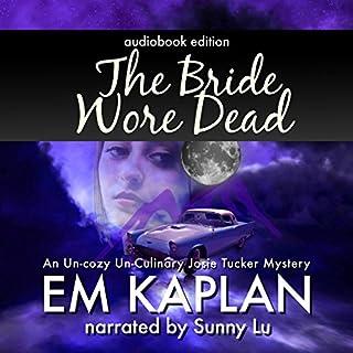 The Bride Wore Dead audiobook cover art