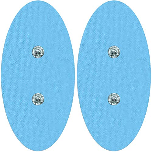 Pack Of 4 Oval Surf Electrodes Bluetens