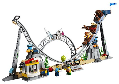 LEGO Creator 3in1 Pirate Roller Coaster 31084 Building Kit (923 Pieces) (Discontinued by Manufacturer)