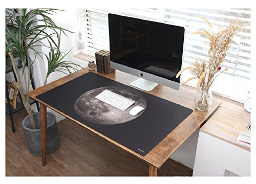 Super Size Special Design Non-Slip Protective Office Desk Mat Gaming Mouse Pad Multifunctional Computer Desk Pad Oversized Mouse Pad for Computer Laptop Keyboard, 39.4 x 22 inches, MP106007