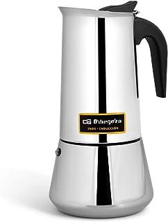 comprar comparacion Cafetera italiana inox ORBEGOZO KFI960 | ORBEGOZO 9 tazas Induccion Vitro Gas Electrico