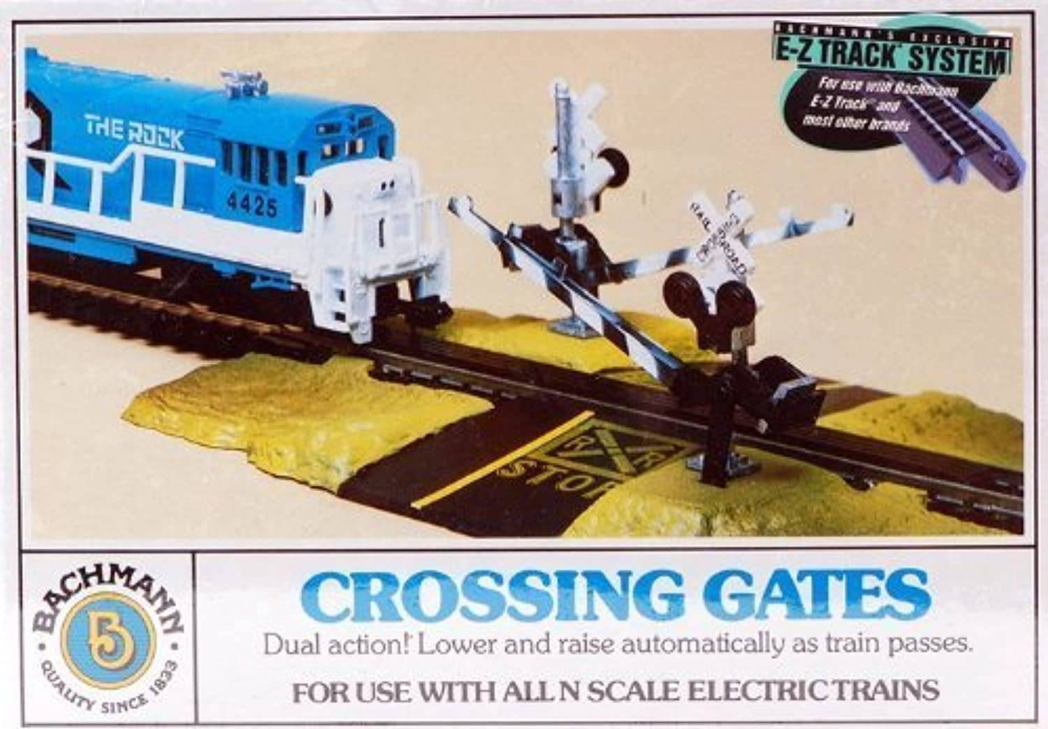 Bachmann EZ Track Crossing Gate  N Scale by Bachmann [Toy]