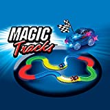 SHOP-STORY - Magic Circuit Magique Tracks Flexible Lumineux Phosphorescent 240 pièces Incroyablement Amusant et Modulable Qui Brille dans Le Noir