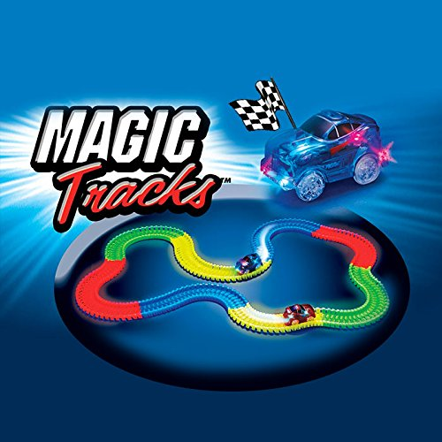 SHOP STORY Magic Circuit Magique Tracks Flexible Lumineux Phosphorescent 240 pièces Incroyablement...