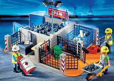 PLAYMOBIL® 4135 - SuperSet Bauhof