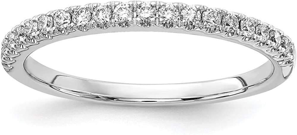 14k Rose Gold Lab Grown Diamond Vs/si D E F 1/5ct Wedding Ring Band Size 7.00 Fine Jewelry For Women Gifts For Her