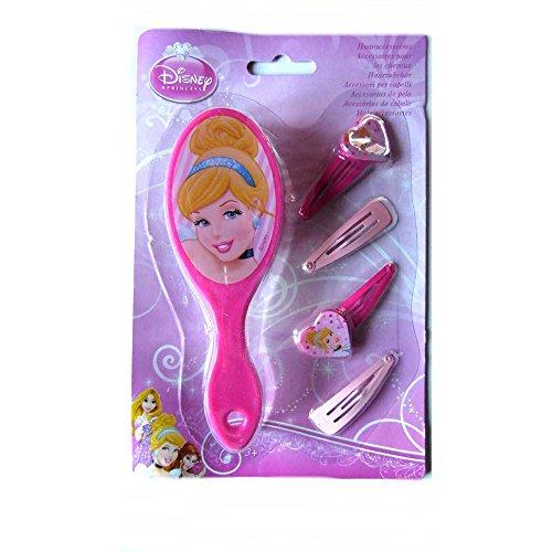Compatible avec Brosse + 4 barette Disney Princesse enfant