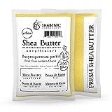 shabina Manteca de Karité unraffiniert Yellow Pure Premium 100% pura sheabu tter 250 gr, 0.5 Lb – 407