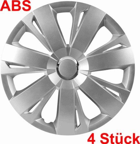 Universal Radzierblende Radkappe silber 16 Zoll für viele Fahrzeuge passend