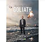 yhnjikl Poster Und Drucke Goliath Hot Billy Bob Thornton TV
