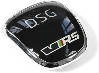 Plakette VRS Schaltknauf DSG Blende RS Clip chrom/schwarz 5E0713146E